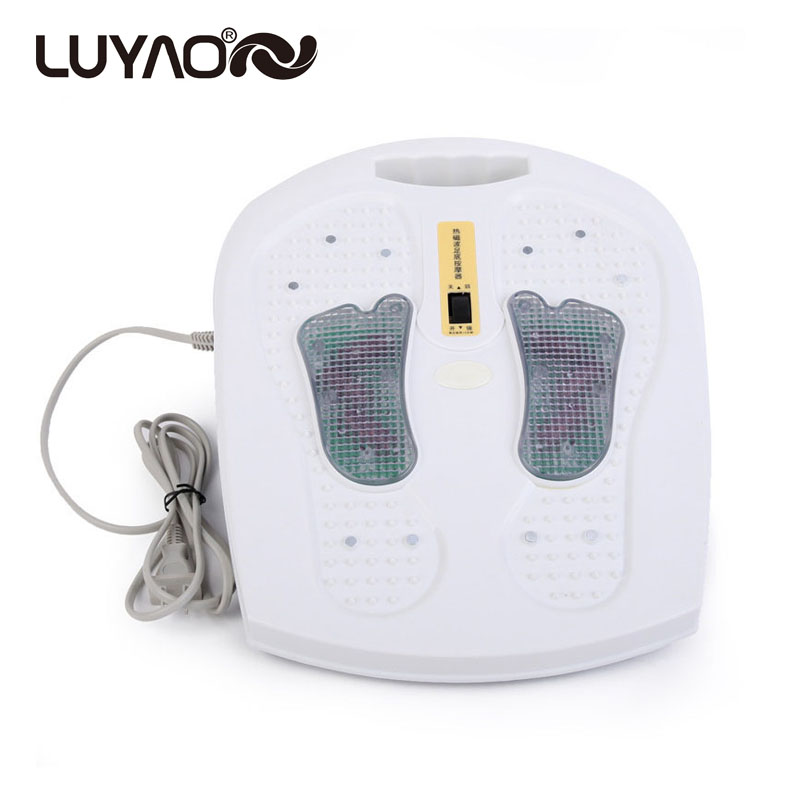 Infrared Reflexology Foot Massager Electric Machine Physical Automatic Roller Feet Care Massager Circulation Therapy Heater top selling electric foot massager machine infrared feet massager with heating