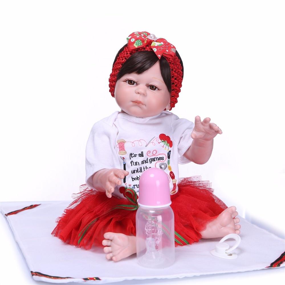 Bebes reborn NPK doll 2050cm full silicone reborn baby doll toys for child gift lovely girl princess newborn baby doll  Bebes reborn NPK doll 2050cm full silicone reborn baby doll toys for child gift lovely girl princess newborn baby doll