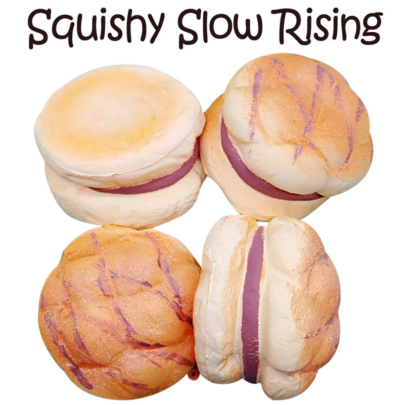 8cm Sweet Pineapple Bun Squishies Slow Rising Squeeze Scented Stress Relieve Toyrising Wipes Anti-stress Toys A1