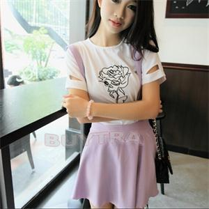 Hot Summer Fashion Girl Candy Color Waist Suspender Skirts Flared Pleated Ball Gown Skirt Strap Half Skirt Women