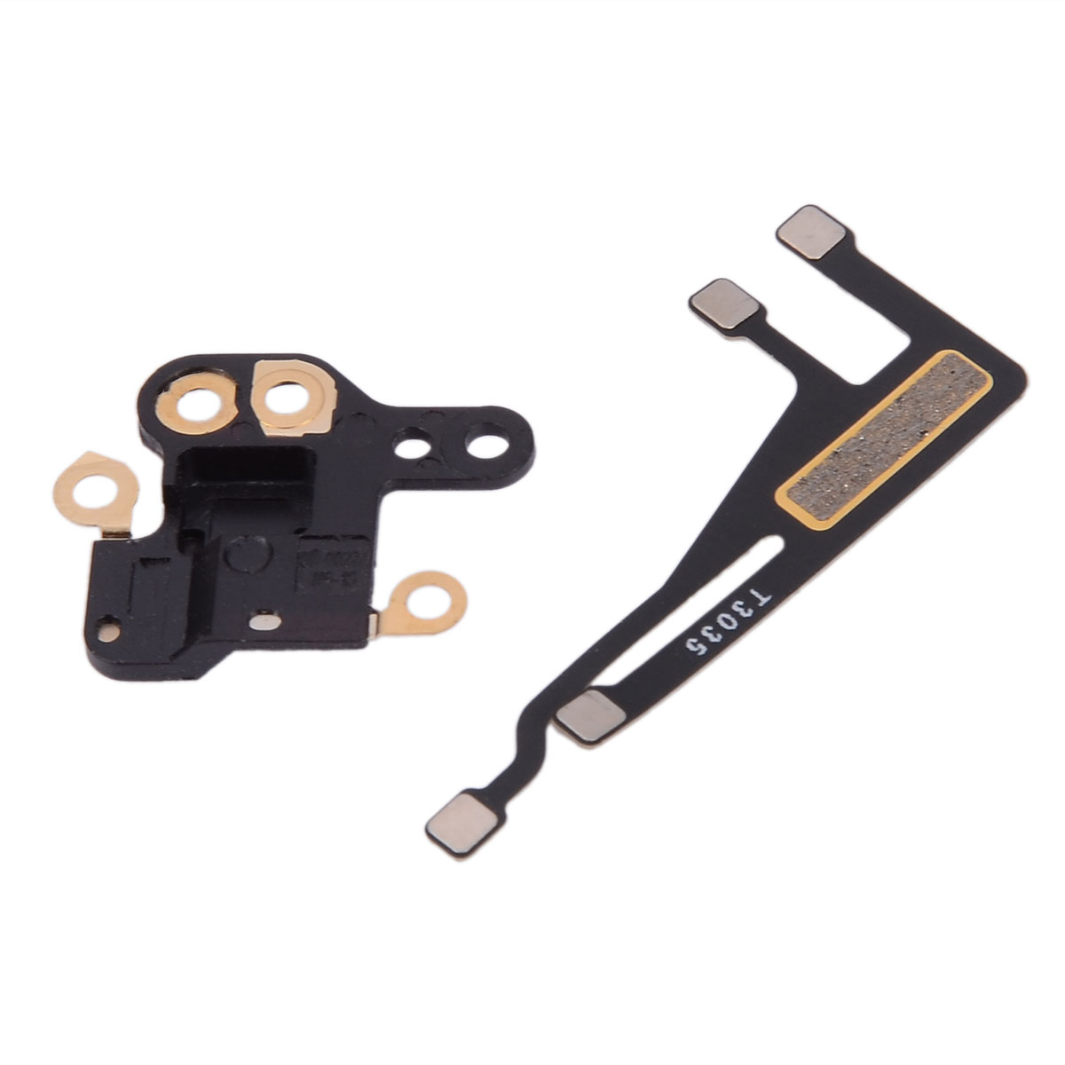 New WiFi Antenna Signal Flex Cable Ribbon Bracket + GPS Cover Replacement Repair Parts For IPhone 6 4.7