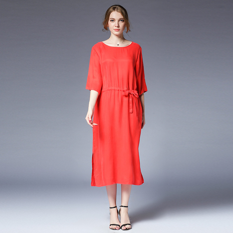 size 40 49146 fd533 summer fashionable dresses streetwear plus size women clothing vestidos red  dress loose dress online shop clothing elbise xl 4xl-in Dresses from ...