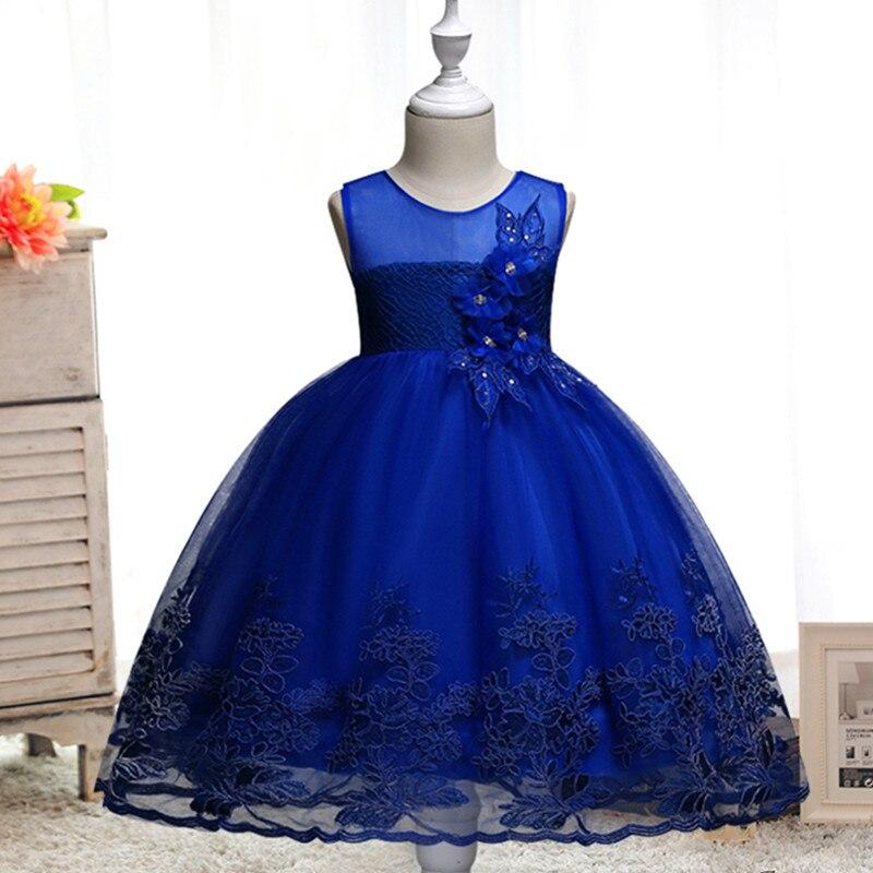 e1c762a2 Нарядное платье-пачка с цветочным рисунком, детская одежда элегантное  ручное Бисероплетение, платья для