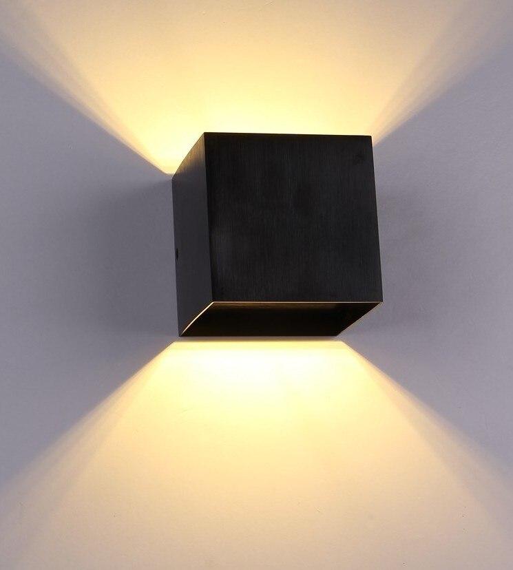 3 watt Wand led-hintergrundbeleuchtung studie schlafzimmer nacht hotel flur treppe kreative korridor lichter 110-220 v Platz 240 lumen