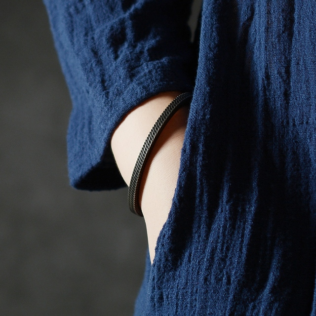Bracelet Style rétro titane acier viking 3