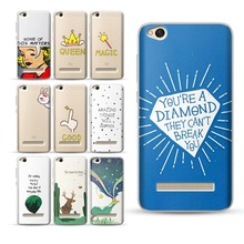 Queen Cover for Fundas Xiaomi Mi 8 Case A1 5X 6 Fashion Quotes Word Coque XiaoMi Redmi 4X 4A Note 4 5 5A