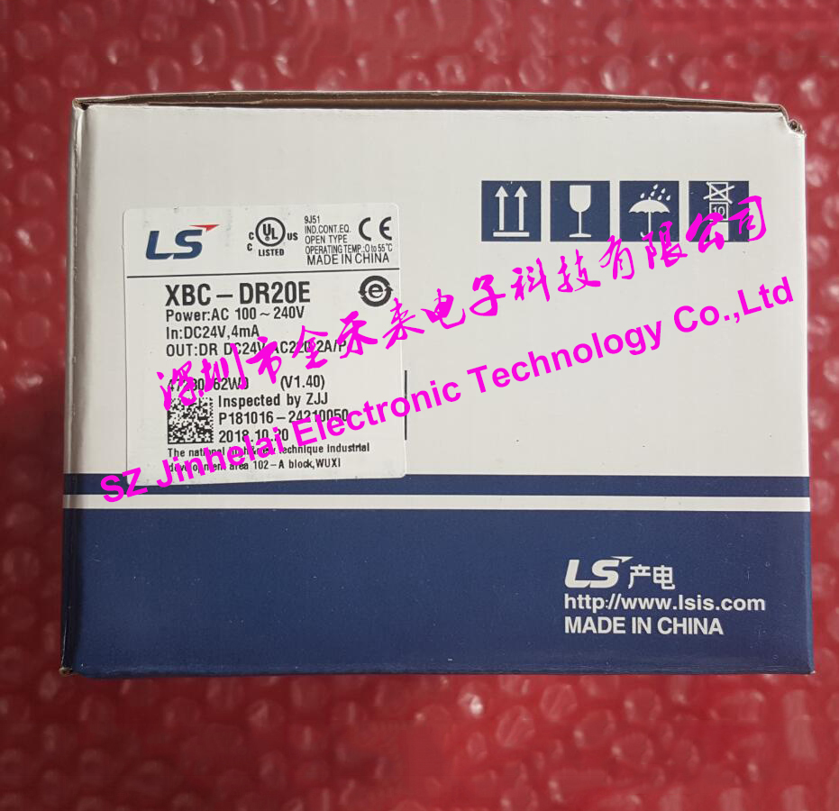 100% New and original XBC-DR20E LS(LG) PLC controller 100% new and original xbc dr30su ls lg plc controller