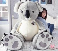 68cm Giant Hung BIG AUSTRALIA KOALA COTTON PLUSH SOFT TOY DOLL STUFFED ANIMAL GIFT