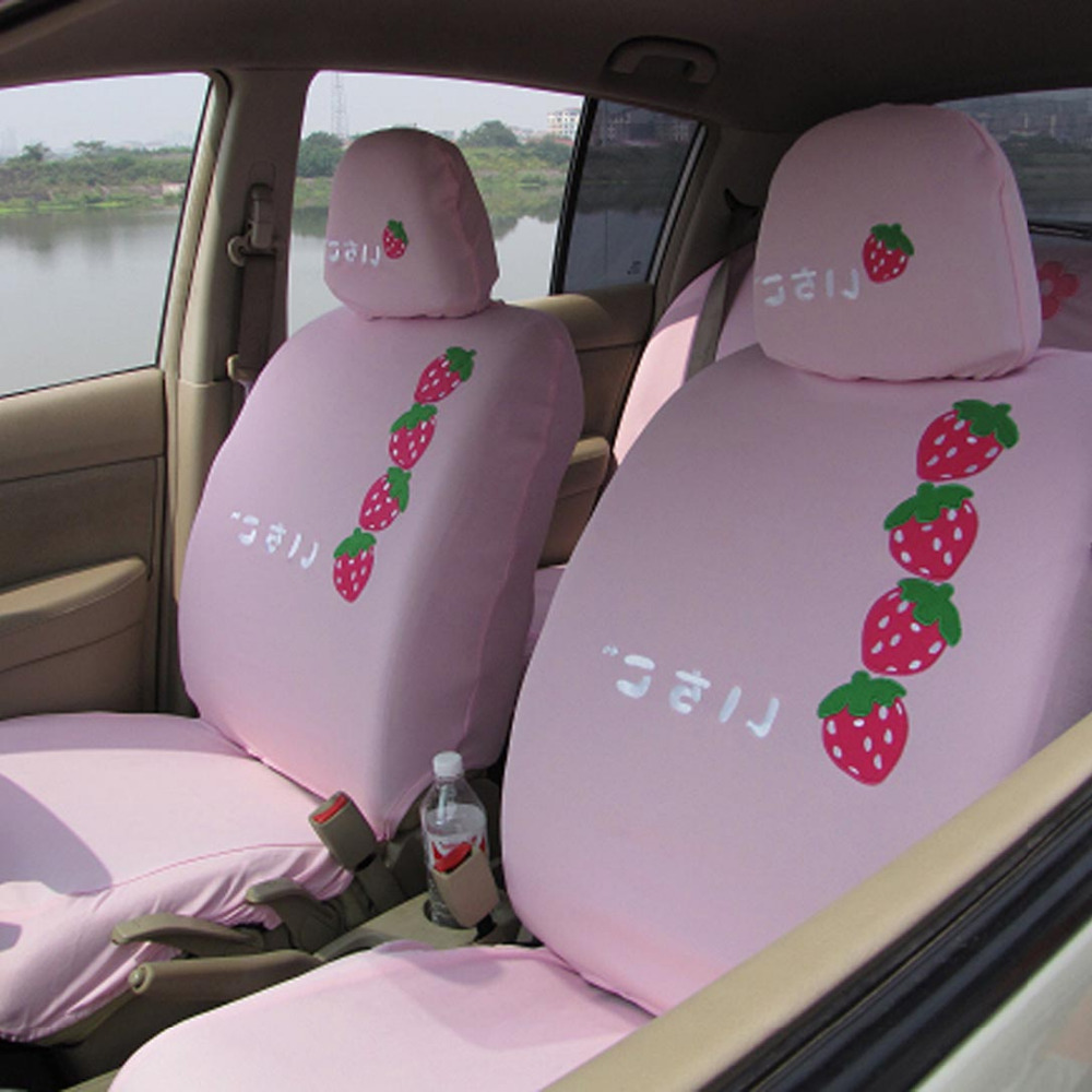 very cute universal car seat covers universal car seat covers car interior accessories 10 pcs. Black Bedroom Furniture Sets. Home Design Ideas