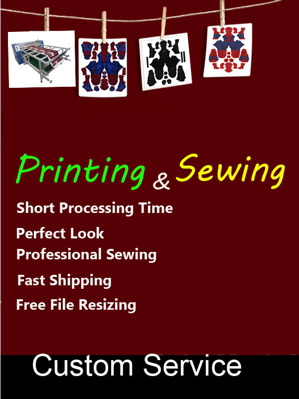 Custom 3 Digital Print and Sew Costume from Your Pattern Design File