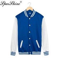 Новинка весны 2017 года Цвет: белый, черный, голубой красный Для женщин Бейсбол Куртка Мода Harajuku Street Beat куртка Повседневное Курточка бомбер