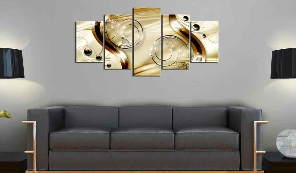 5 pieces/set Abstract poster night view Picture Print Painting On Canvas Wall Art Home Decor Living Room Canvas Art PJMT-B (255)