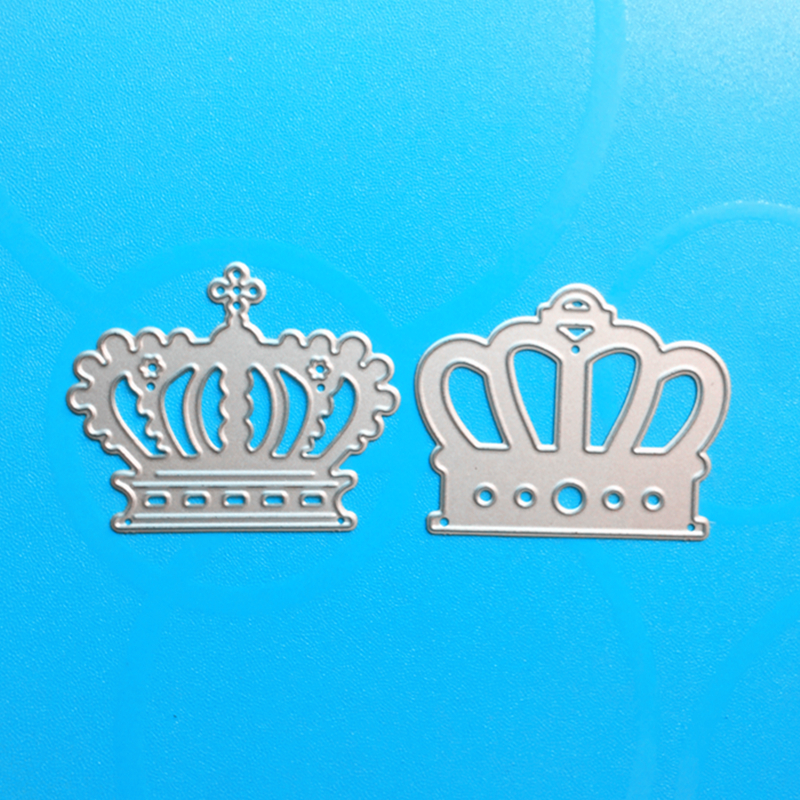 YLCD107 Crown Metal Cutting Dies For Scrapbooking Template DIY Cards Album Decoration Embossing Folder Die Cutter Stencils