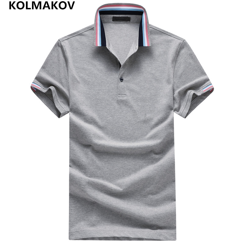 2019 Brand New Fashion Sportwear Big Size Men Clothes   Polos   Hombre Camisa   Polo   Masculina Breathable Summer   Polo   Shirt Men