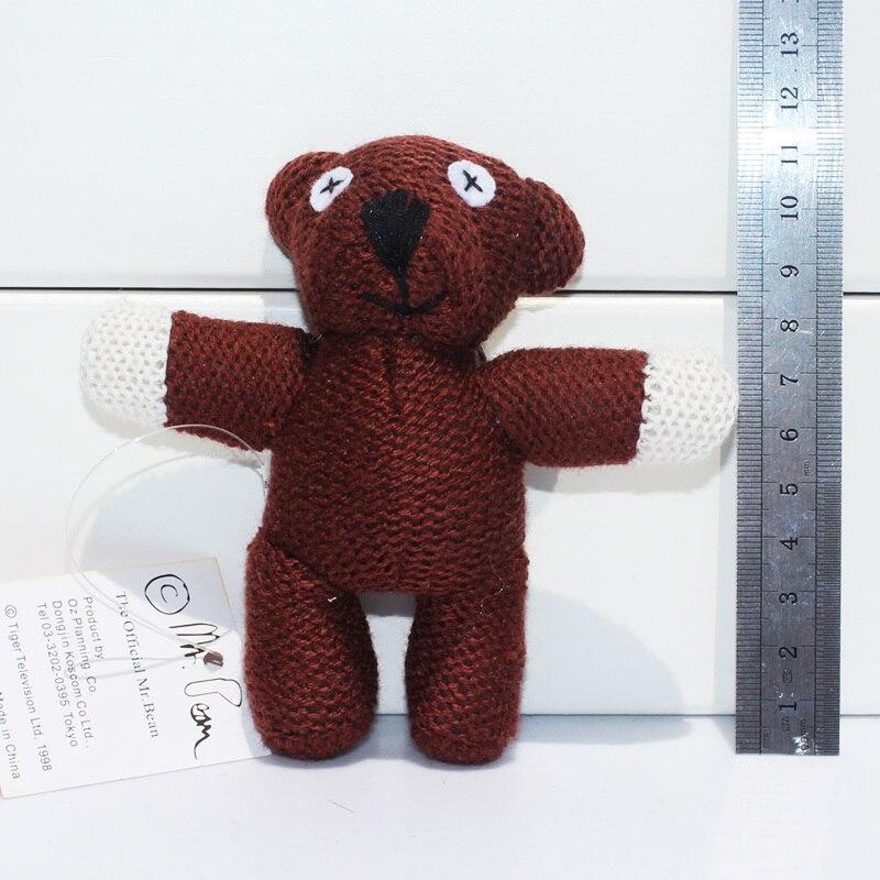 10 шт./лот Мистер Бин teddybear плюшевые игрушки куклы с кольцом 4