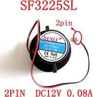 Livraison gratuite nouveau original SANLY SF3225SL 2PIN DC12V 0.08A pour humidificateur de ventilateur Ultra silencieux