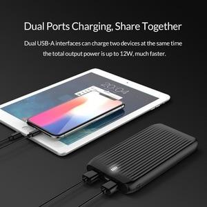 Image 3 - ORICO 10000mAh Ultra Sottile Accumulatori e caricabatterie di riserva Dual USB Esterno Batteria di Grande Capacità Pacchetto del Caricatore Powerbank per il Telefono Mobile Tablet