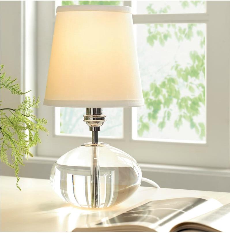 Туда Бесплатная доставка Американский Стиль настольная лампа K9 Кристалл Настольная лампа для Гостиная кабинет Спальня E27 110 В- 220 В