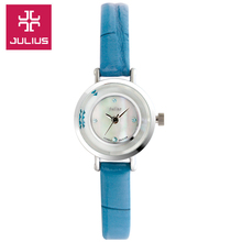Julius Watch Kids Watch Women Couple Casual Fashion Simple Waterproof Clock