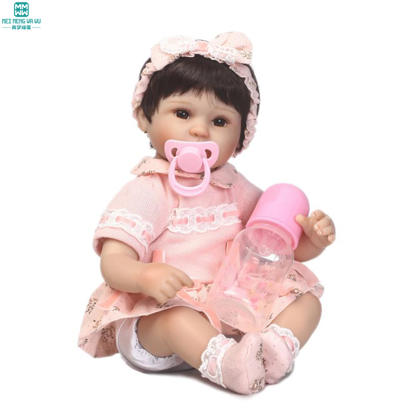 40cm doll baby born high quality Silica gel baby dolls/baby for Child's Christmas gifts ws 0237 sugar cake baby clothes liquid silica gel mold
