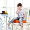 Bebê Comer Almofada Cadeira Crianças Portáteis Jantar Destacável Ajustável Aumento da Altura Pad Almofada Do Assento Almofada Heighten de Piano