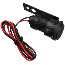 Car Auto Motorcycle Weatherproof Motorcycle Charger Adapter Cigarette Lighter Socket 12V USB Power Supply Socket Power