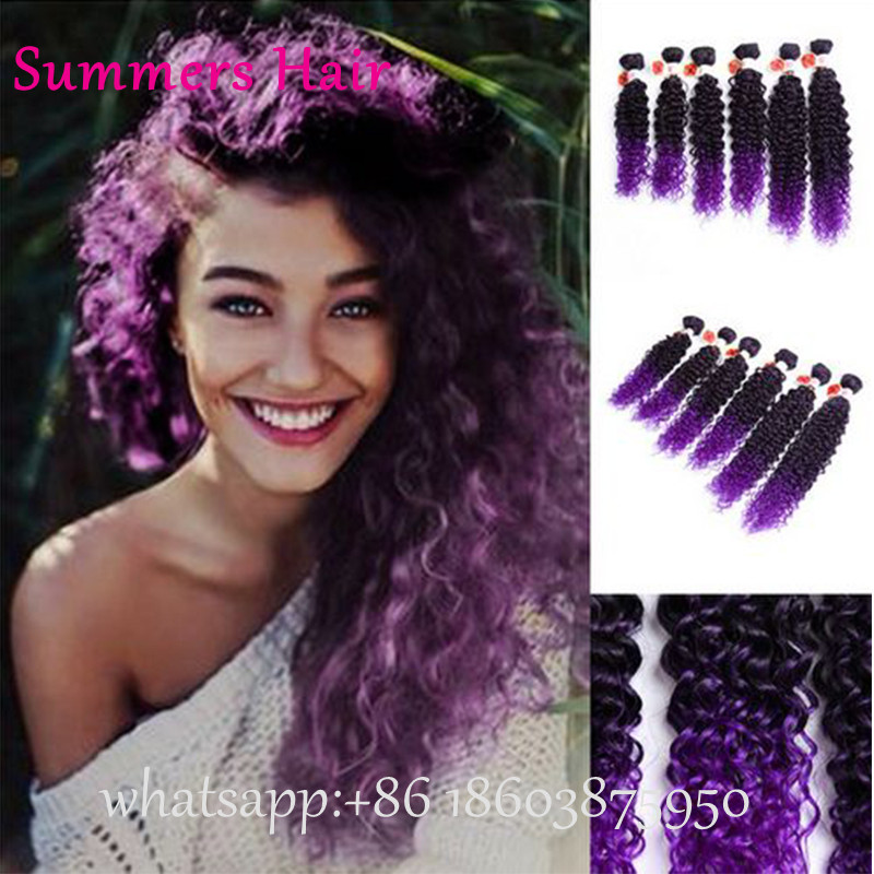 Aliexpress 6pcslot ombre27 color deep weave hair crochet aliexpress 6pcslot ombre27 color deep weave hair crochet extensions natural looking deep wave hair weft for beauty on aliexpress alibaba group pmusecretfo Gallery