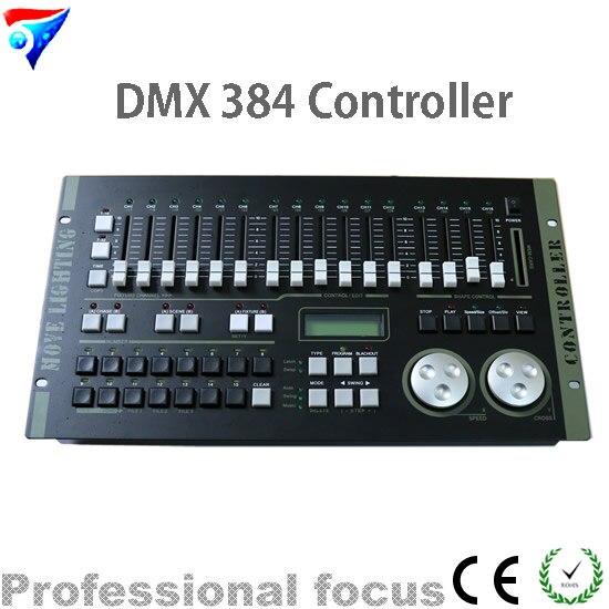 Livraison gratuite contrôleur DMX contrôleur DMX 384 pour la lumière de la scène