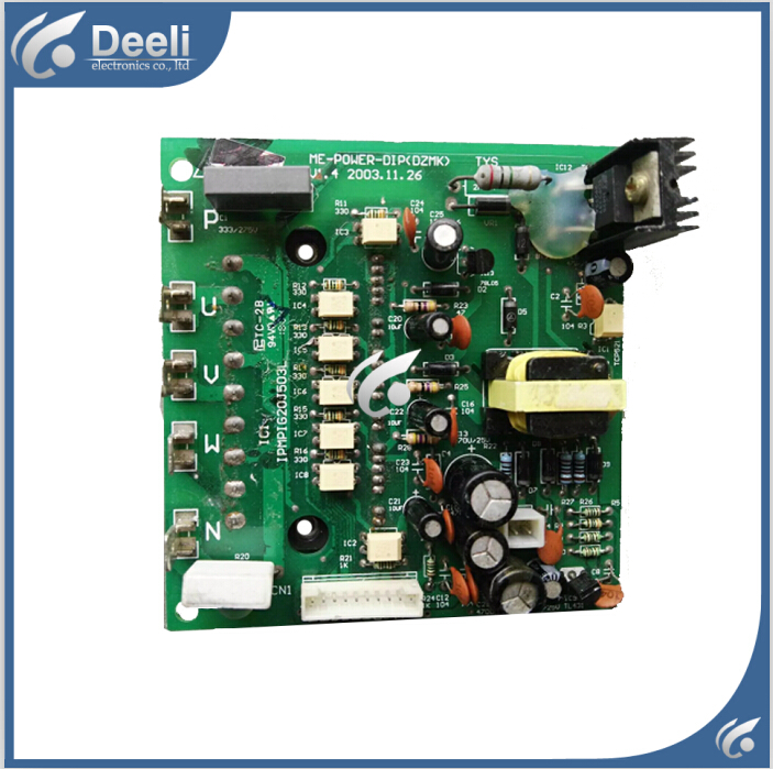 95% new good working for  air conditioning Conversion module board ME-POWER-DIP(DZMK)V1.4 control board 90% new used good working used board for refrigerator computer board power module da41 00482j board