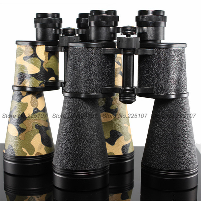 e0215d724a BAIGISH 15X60 Metal Military Binoculars Telescope Multilayer Coating Low  Light Level Night Vision Hunting Scope Field-glasses