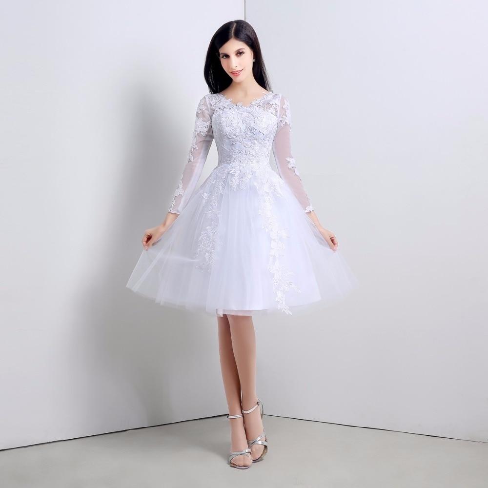Popular Beautiful White Prom Dresses-Buy Cheap Beautiful White ...