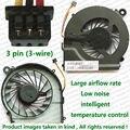 100% Testado Brand New Fan CPU Para HP CQ42 G4 G42 CQ62 G62 Q68C Q73C Q72C Laptop Reparação Parte substituição do Ventilador de Refrigeração refrigerador