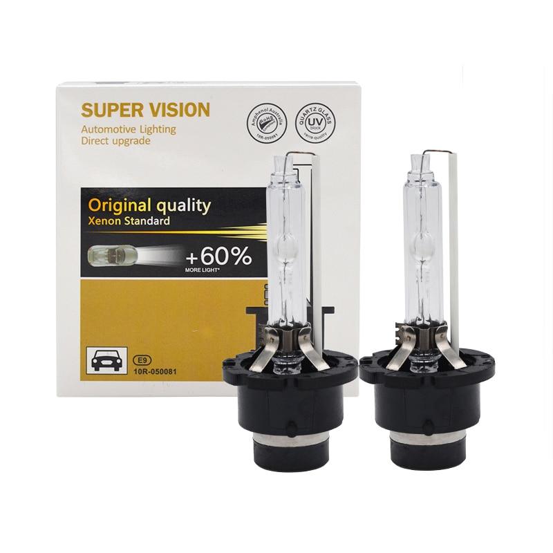 55W HID Xenon Bulb D2S 6000K D1S 5000K D3S 8000K D4S 4300K Car Headlight Bulb Kit 35W 55W D1S D1R D2S D2R D3S D4R D4S Xenon Bulb