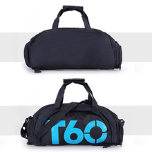 Gym Bag with Shoes Compartment