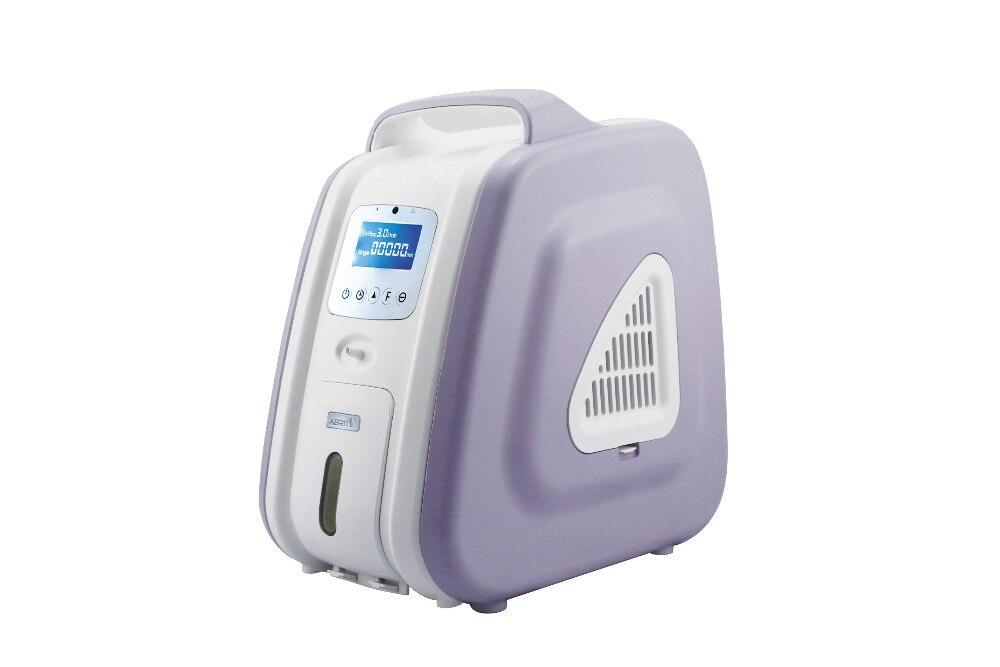 Concentrateur d'oxygène COXTOD Concentration d'oxygène 110 V/220 V 3L 90% LED purificateur d'air Portable système-panneau d'oxygène
