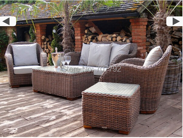 2017 Hot New Design Outdoor Ratan Vintage Style Sofa Set In Garden Sofas From Furniture On Aliexpress Alibaba Group
