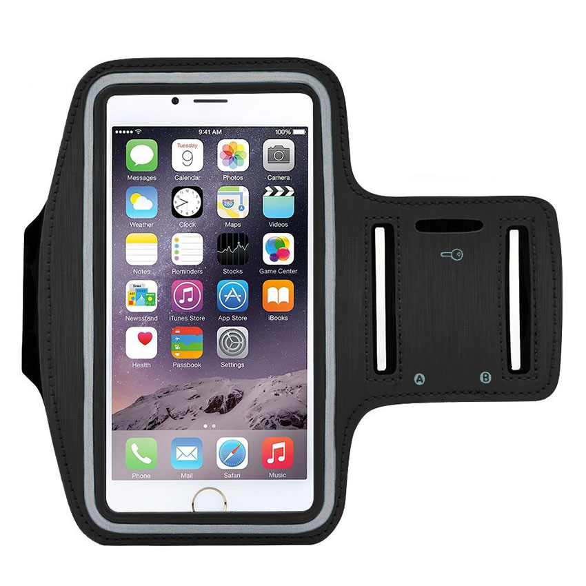 Sport Armband Hand Bag Case For iPhone 7 6 Cloth Gym Running Pouch Arm Band For iPhone 7 7s Plus Tiske Mobile Phone Holder Bag armband for iphone 6