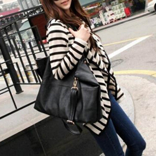 1pcs New Fashion Women Ladies Long Sleeve Striped Cotton Autumn Casual Top Cardigan Blouse Jacket Coat pop