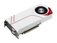Используется, оригинальный ASUS gtx970 4 ГБ GDDR5 256BIT игра видеокарта TURBO GTX970 OC 4GD5