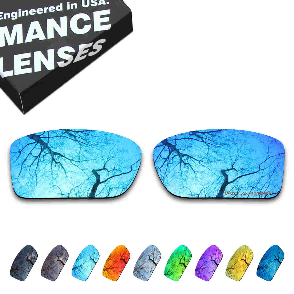 ToughAsNails Resist Seawater Corrosion Polarized Replacement Lenses For Oakley Double Edge Sunglasses - Multiple Options
