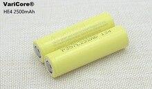 Genuine para LG Célula de Bateria 2 Pçs e lote Novidade HE4 Chem 18650 Icr18650he4 30A 35A Discharge Li-ion 2500 MAH Frete Grátis