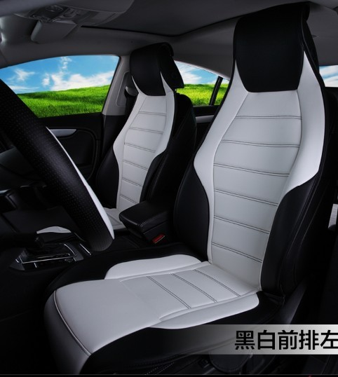 Fashion Sports Four Seasons High Quality PU Leather Universal Car Seat Cover Set For Mercedes A180