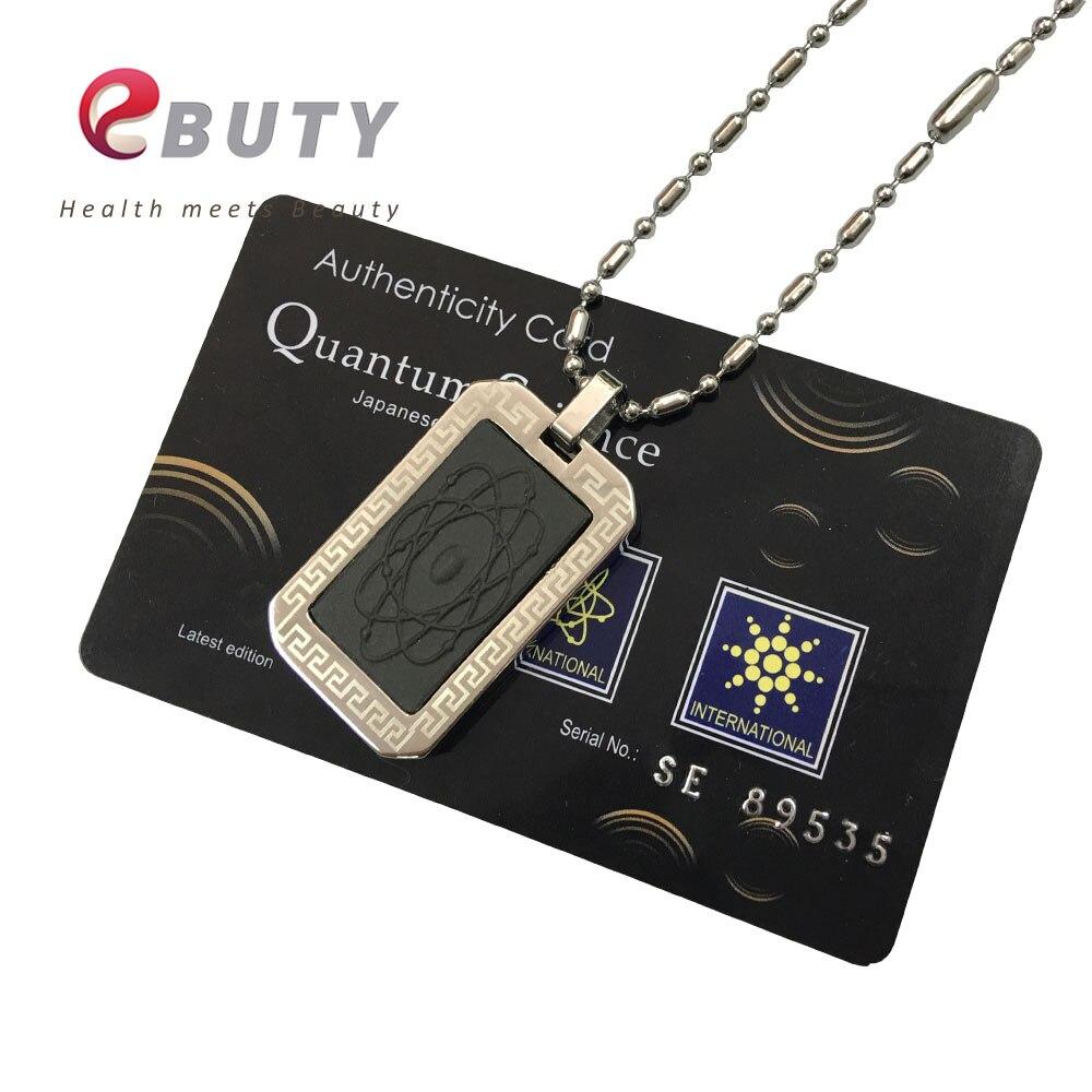 Ebuty modo bio energia scalare pendenti con gemme e perle + nano card + gift box 4 in 1 sfera di energia magnetica amuleti 2 pz/lotto-in Ciondoli da Gioielli e accessori su  Gruppo 1