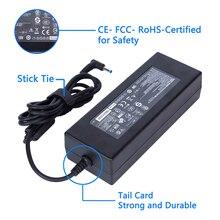 KWOKKERK 19.5 V 7.7A 150 W wymiana adapter AC ładowarka do HP złącze 4.5mm * 3.0mm