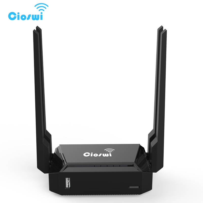 все цены на Cioswi Router Wifi 2.4Ghz 300Mbps 4Lan Access Point Wireless Router For USB 2.0 Wifi Repeater MT7620N Chipset Openwrt Router онлайн