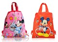 2pcs Lovelty Cartoon Drawstring Backpack Bags 34*27CM Non-Woven Fabric Multipurpose Bags Kids Party Gifts,School Furniture