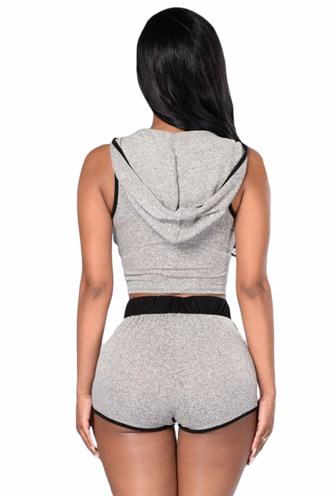 Heather-Grey-Cropped-Hoodie-and-Short-Set-LC62020-11-5