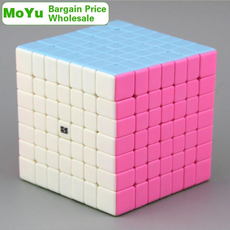 MoYu AoFu GT 7x7x7 Cube magique 7x7 gros Lots en vrac 4 pièces Cubo Magico néo vitesse Cube Puzzle Antistress Fidget jouets pour enfants