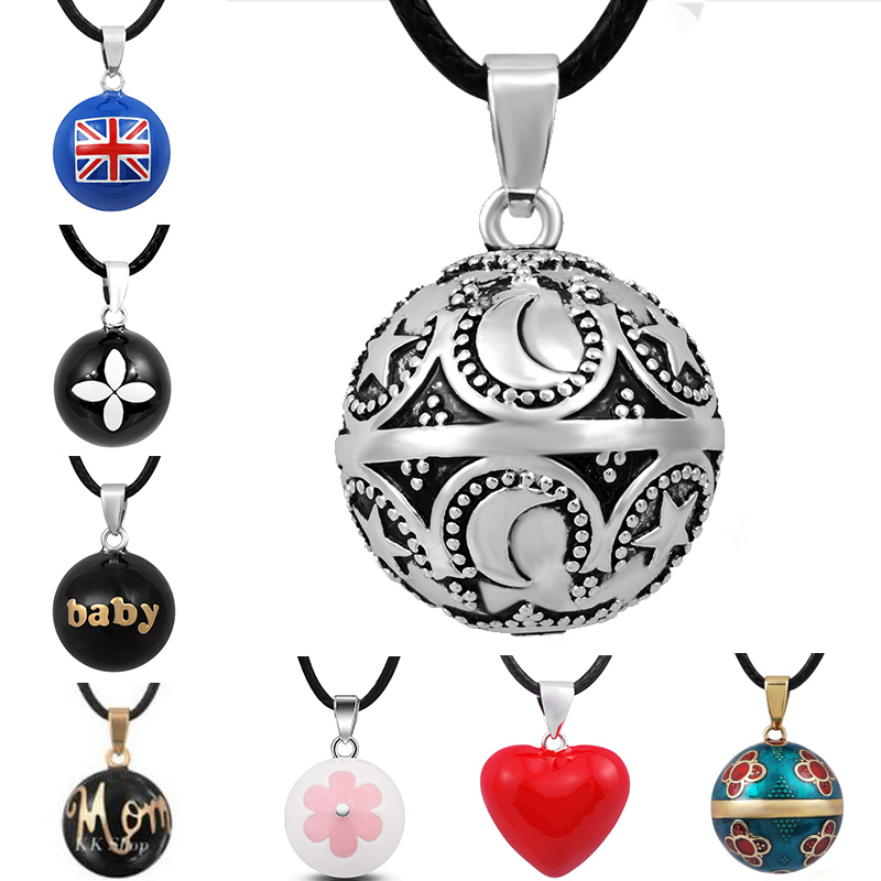 Mexican chiming bola ball harmony ball for pregnancy necklace Earrings Jewelry
