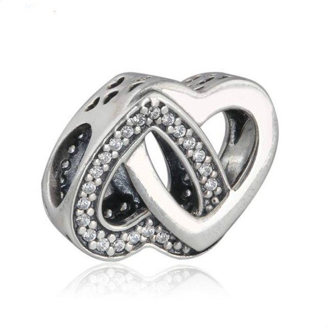 09f6eebed 2018 Mother's Day Authentic 100% 925 Sterling Silver beads Entwined Love  Charm Fit Original Pandora